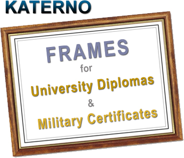 Diploma Frames for University, Highest Quality, Custom Made