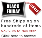 black friday fee shipping