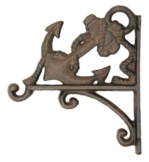 Cast Iron Anchor Plant Hanger - 0170-09513