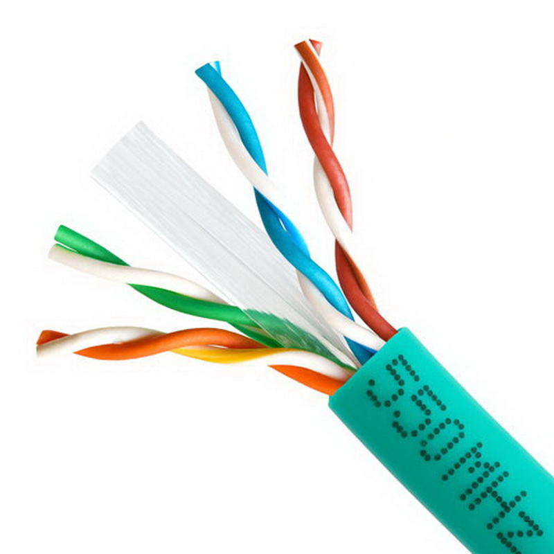 CAT6 BULK 23AWG ETHERNET LAN NETWORK CABLE - 1000 FT Green