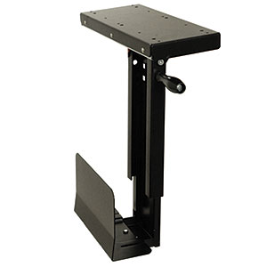 CPU Holder, Under Desk Mount, Small, Cs-11f