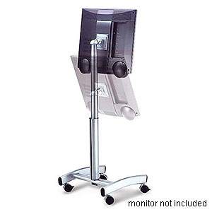 Ultra Mobile LCD TV Cart, Silver - 111 0334