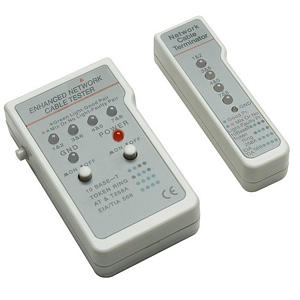 Intellinet Multifunction Cable Tester, RJ45/RJ11