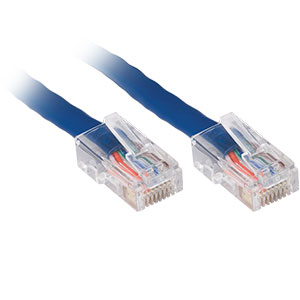 CAT5e Patch Cable, 10ft, Blue