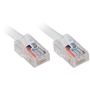 CAT5e Patch Cable, 10ft, White
