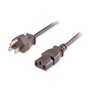 Computer Or Monitor Power Cable, 6ft - 120 2100