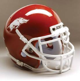 Arkansas Razorbacks Schutt Mini Helmet - 1419572003
