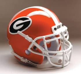Georgia Bulldogs Schutt Mini Helmet - 1419572010