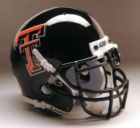Texas Tech Red Raiders Schutt Mini Helmet