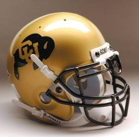 Colorado Buffaloes Schutt Mini Helmet