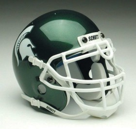 Michigan State Spartans Schutt Mini Helmet - 1419572055