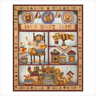 Home Sweet Home Fleece Blanket - 14439