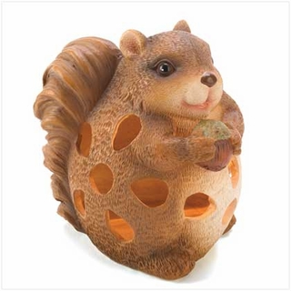 Chubby Chipmunk Garden Solar Light - 14640