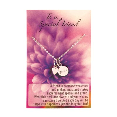 I Love You Friend Necklace - 14756