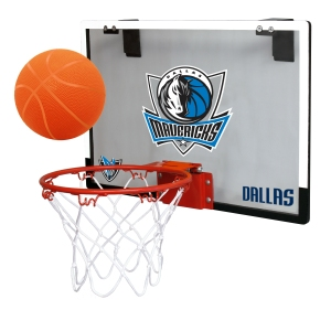 Dallas Mavericks Backboard Hoop Set - 1509936808