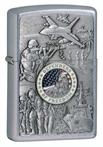 Joined Forces Emblem Zippo - 24457 - 24457_jb