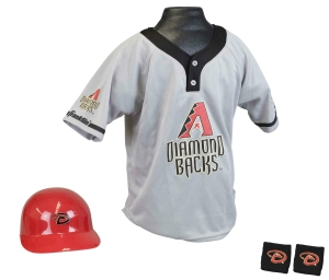 Arizona Diamondbacks Baseball Helmet and Jersey Set - 2572536603