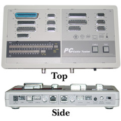 PC Cable Tester (BNC, DB15, DB9, DB25, RJ45, USB, IEEE-1394) - 30D1-58991