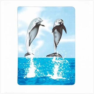 Dolphin Fleece Blanket - 37248