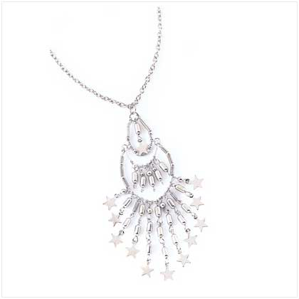 Celestial Shimmer Necklace - 39515