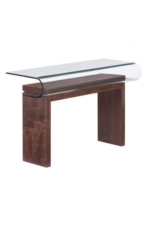 Mystic Console Table Walnut