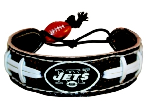 New York Jets Team Color Football Bracelet - 4421402231