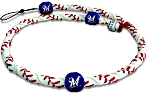 Milwaukee Brewers Frozen Rope Necklace