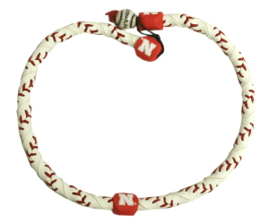 Nebraska Huskers Frozen Rope Necklace