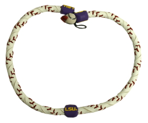 LSU Tigers Frozen Rope Necklace