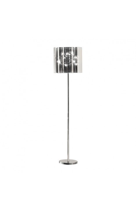 Quasar Floor Lamp Chrome