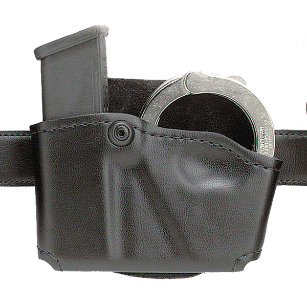 Safariland 573 Magazine Holder, Plain, Left Hand, Colt .45 - 573-83-22