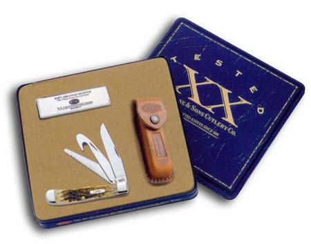 Hunter Trapper Amber Bone Gift Set - 6019 - 6019_jb