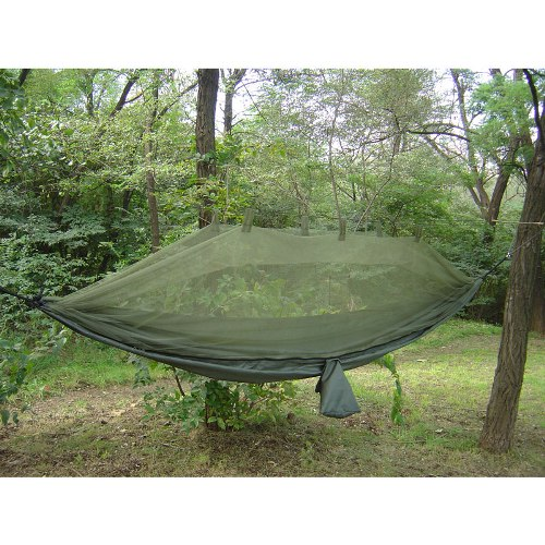 Jungle Hammock w/ Mosquito Net - 61660
