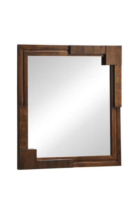 San Diego Mirror Walnut