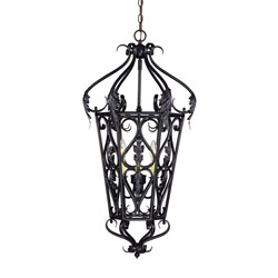 Savoy House Diablo 3 Light Foyer Pendant - 87-12033