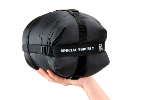 Special Forces 2 Black Sleeping Bag - 91122