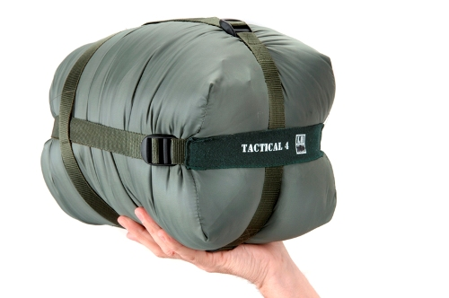 Tactical Series 4 Sleeping Bag Olive RH  - 91162