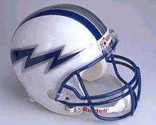 Air Force Falcons Riddell Deluxe Replica Helmet