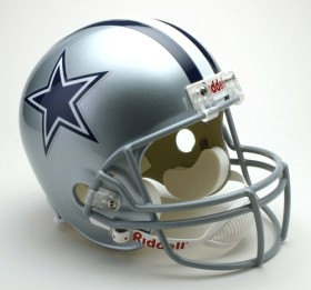 Dallas Cowboys Deluxe Replica Helmet