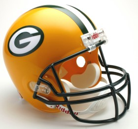 Green Bay Packers Deluxe Replica Helmet