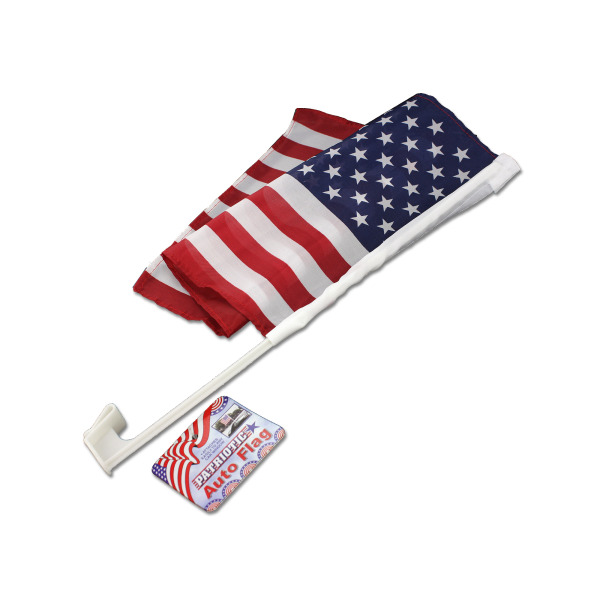 Patriotic Auto Flag [ 24 Pack ]