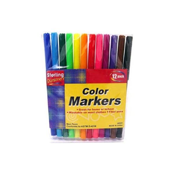 Color Marker Set [ 24 Pack ]