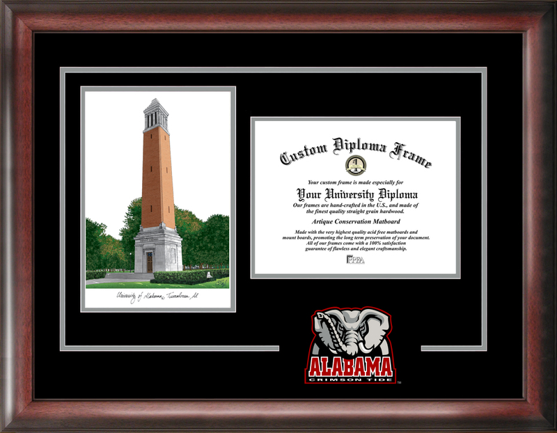 University of Alabama Spirit Graduate Frame