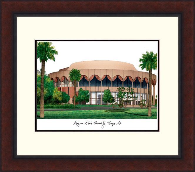 Arizona State University Legacy Alumnus Framed Lithograph
