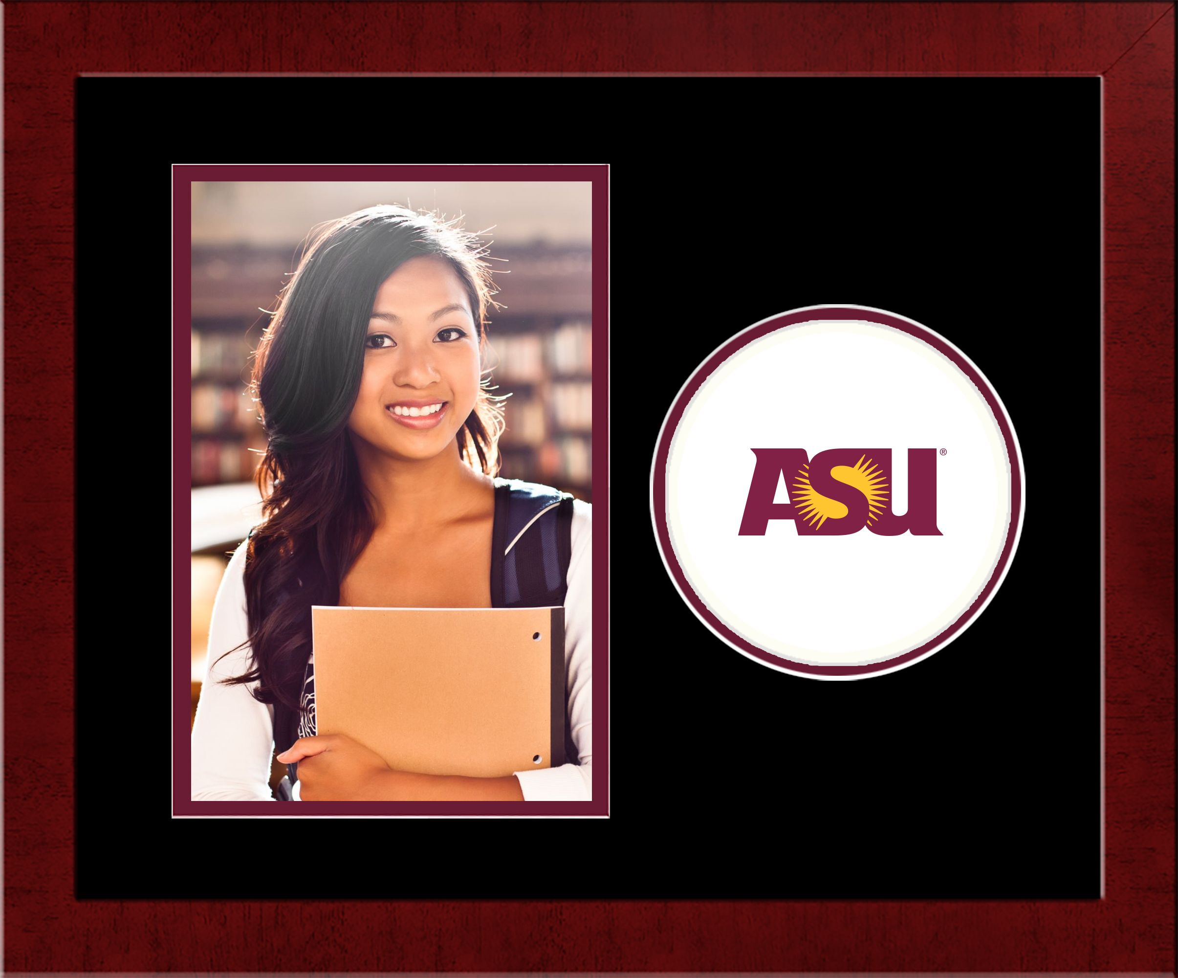 Arizona State University Spirit Photo Frame (Vertical)