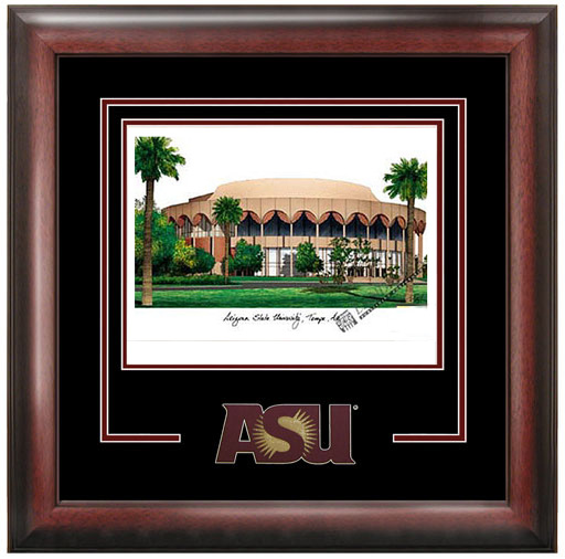 Arizona State University Spirit Litho Frame
