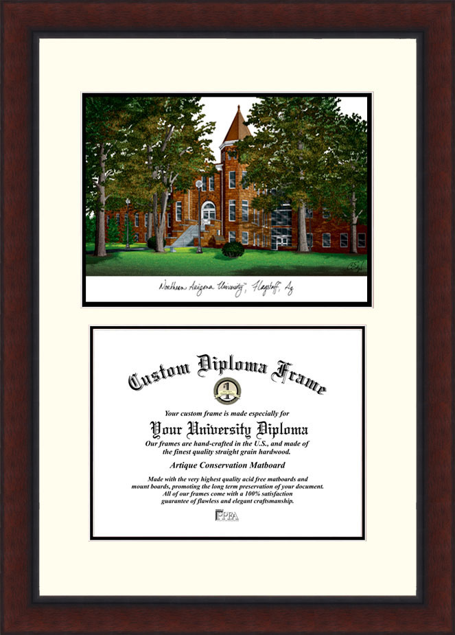 Northern Arizona University  Legacy Scholar Diploma Frame