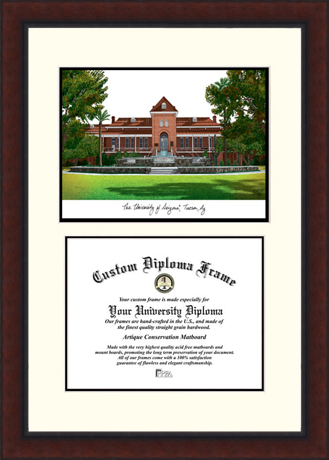 University of Arizona  Legacy Scholar Diploma Frame