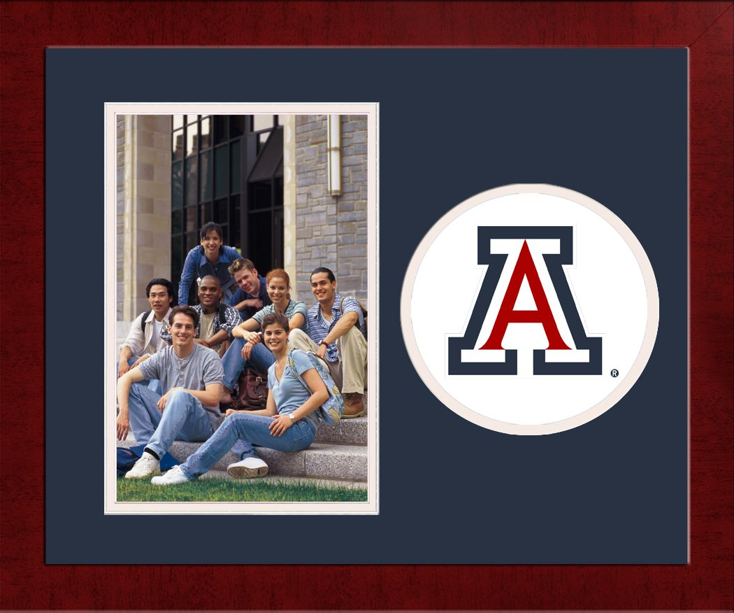 University of Arizona Spirit Photo Frame (Vertical)