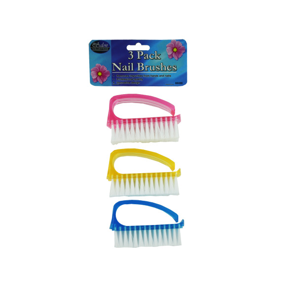 Nail Brush Set [ 12 Pack ]